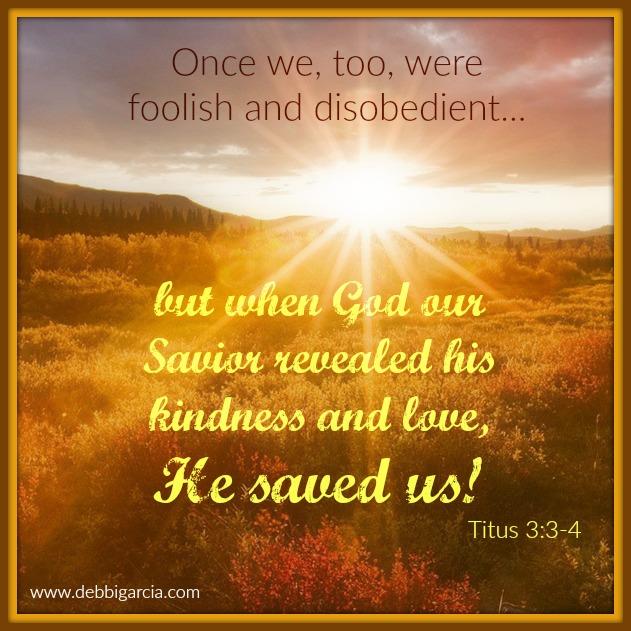 Titus 3:3-4